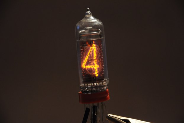 Set of 6 pcs new IN-14 model nixie tubes.
