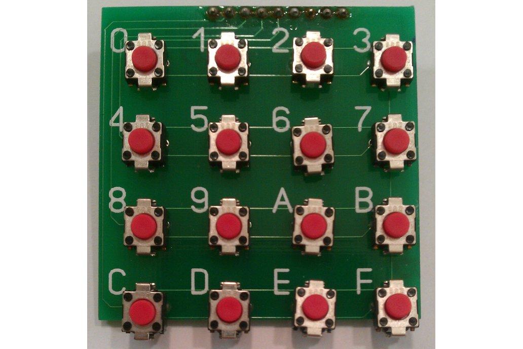 Hex Keypad Kit 1