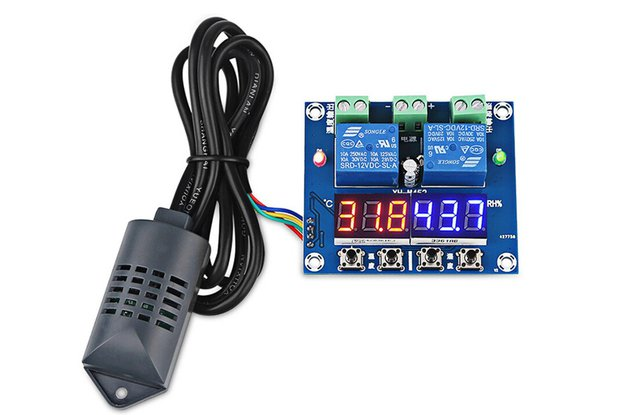 Digital Temperature Humidity Controller (13227)