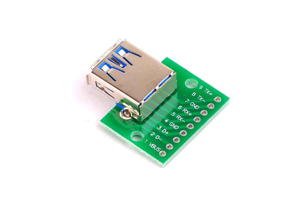 USB3.0 Female Head Conversion Board 1