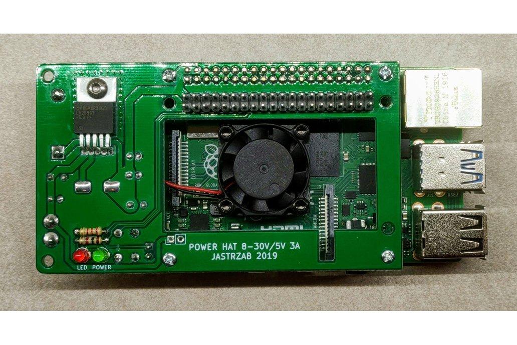 Raspberry PI Power HAT 1