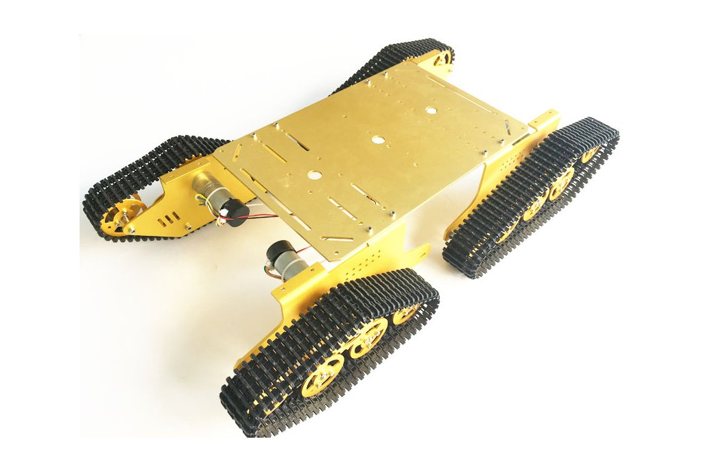 4WD Metal robot Wall-E Tank Track 2