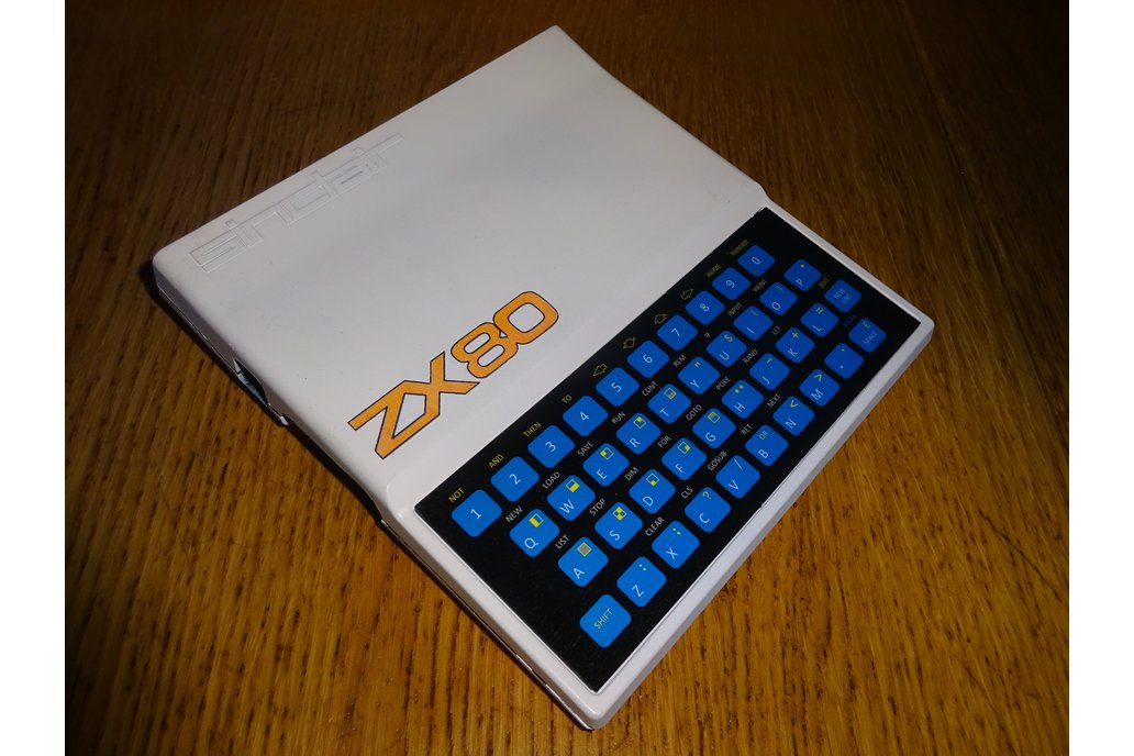 Minstrel ZX80 Clone in White ZX81 case 1