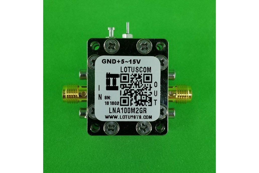 Broadband Ultra LNA with LDO 0.45dB NF 100M~2GHz 1