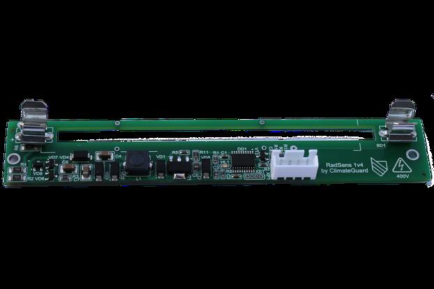 Dosimeter board with I2C (RadSens board) Arduino