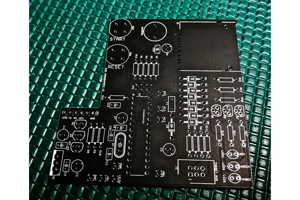 AVR Programmer BARE Board 1
