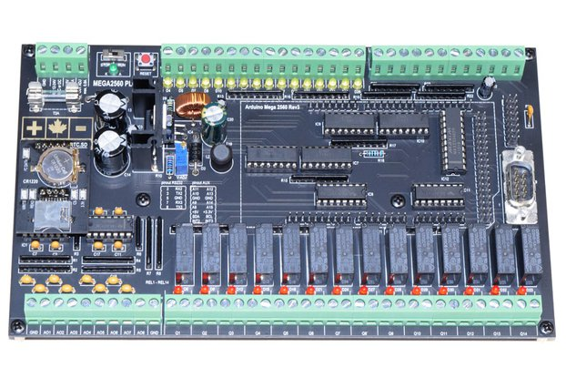 Fully Loaded DIY PLC, 48 I/O, for Arduino MEGA2560