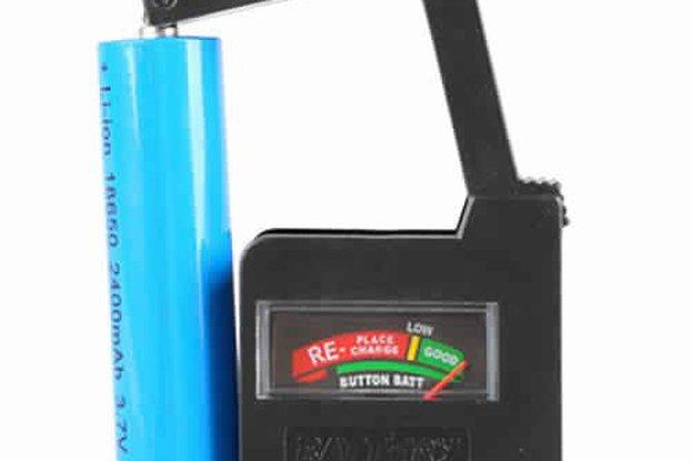 Universal Battery Volt Tester
