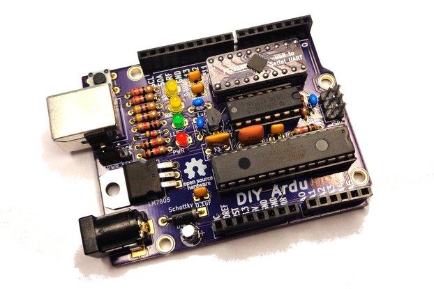 DIY Ardu (Arduino-Compatible Clone)