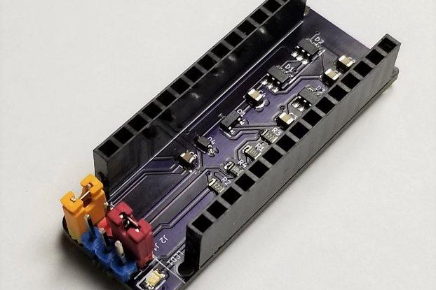 Arduino Nano HV UPDI Programmer for tinyAVR 0/1