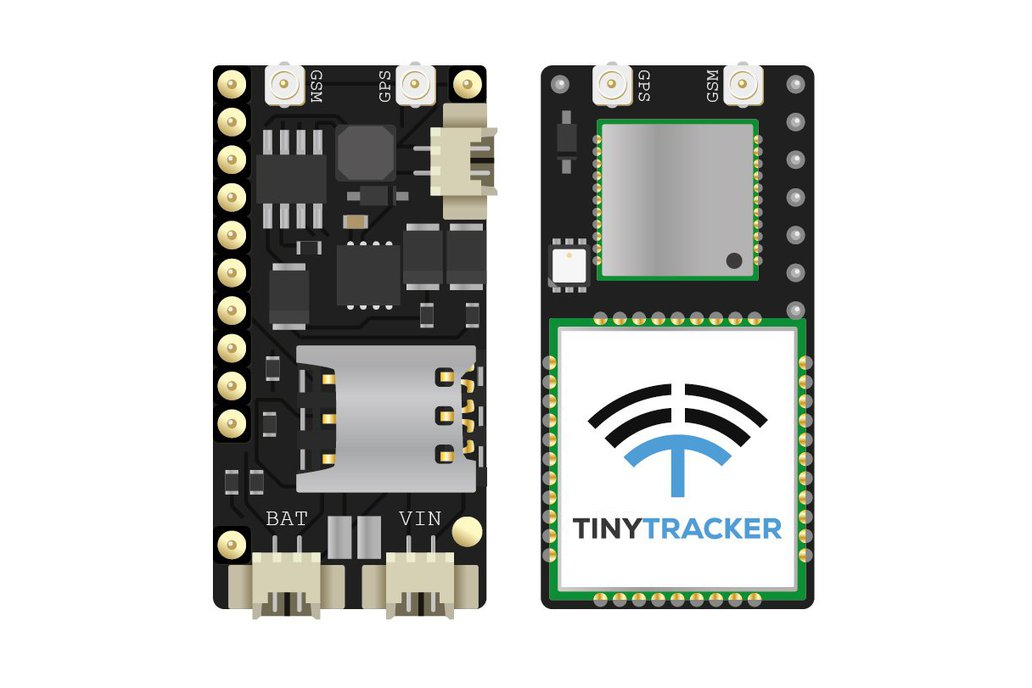 TinyTracker GPS/GSM/CAN for Teensy 3.1/3.2 1