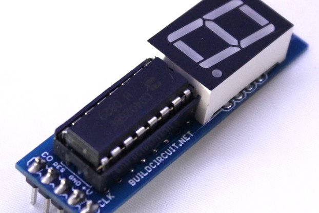 CD4026 up counter for Arduino and NE555