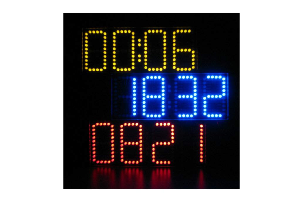 Large Screen Remote Clock Electronic DIY Kit 2