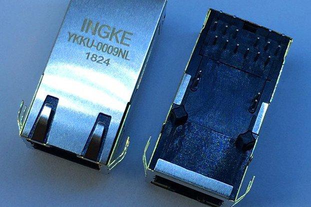 0857891006 Gigatit POE+ RJ45 Magnetic Jacks