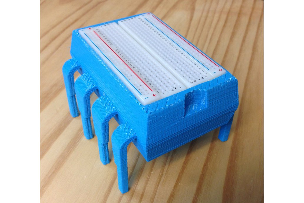 8-Pin DIP Plastic Storage Box & Breadboard Holder 1