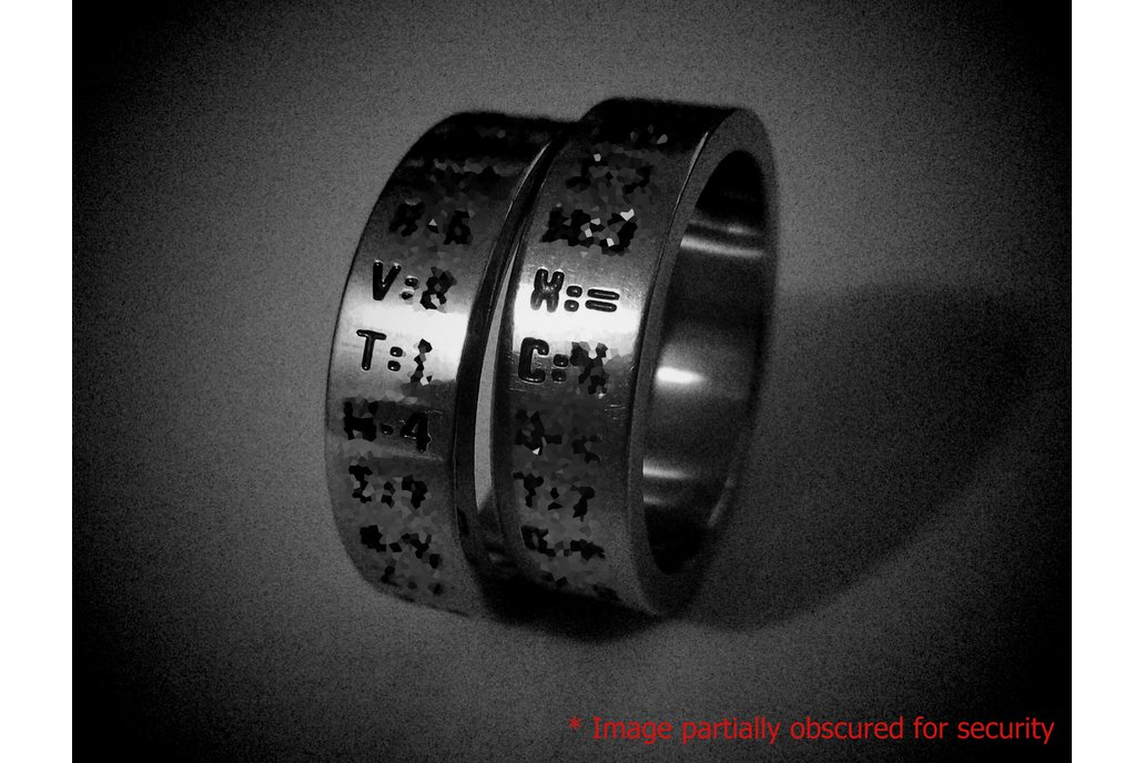RiNGminder™ mkII Password Generator/Recall Rings 1