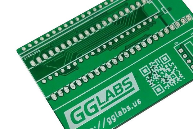 27C400/800/160/322 TL866 programming adapter PCB