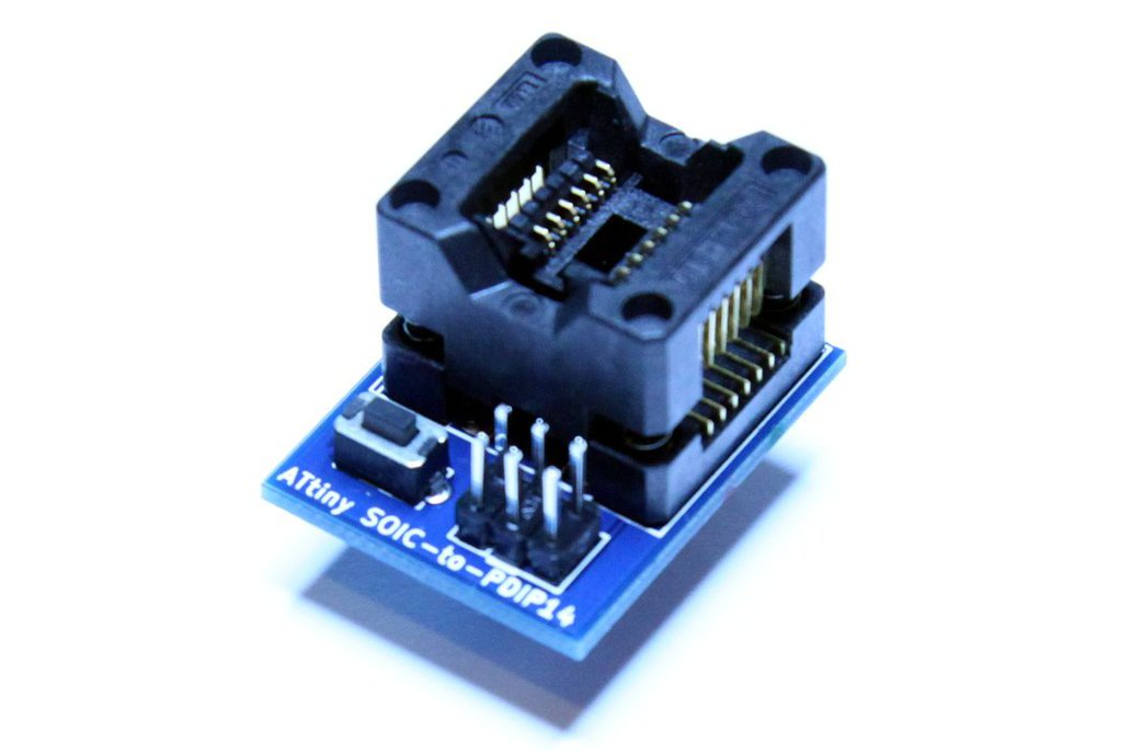 ATtiny 14pin SOIC-to-PDIP adapter 1