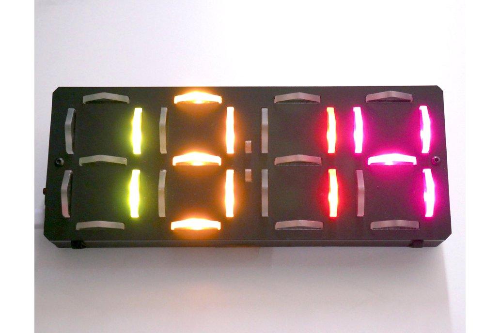 Mod-able Laser WiFi Clock 1