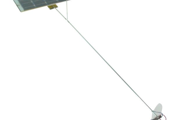 Solar Propeller Mobile