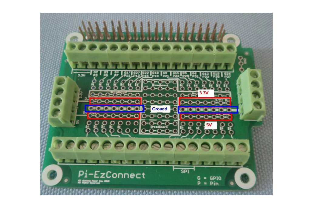 Pi-EzConnect - easy to connect Raspberry  PI GPIO 3