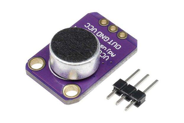 MAX4466 Microphone Amplifier Preamplifier Module
