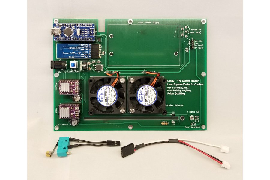 Coasty Laser Cutter Controller