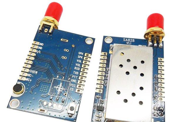 2pc All-in-One walkie talkie module