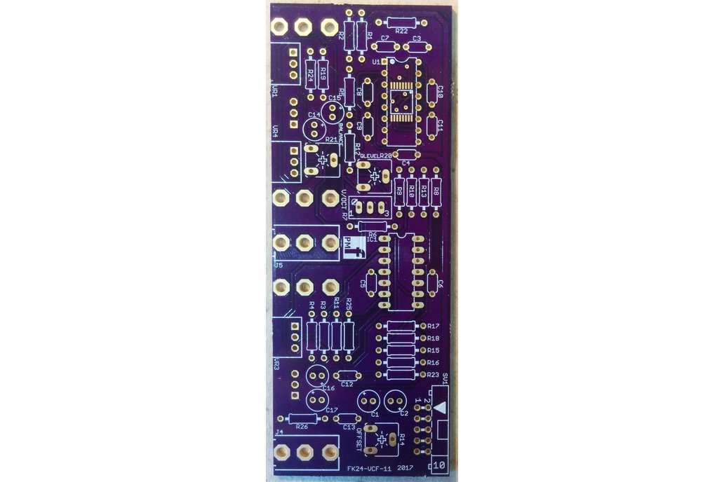 Fatkeys™ VCF (Eurorack PCB Set) 3