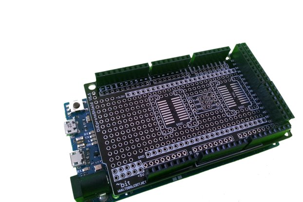 Arduino DUE ProtoShield