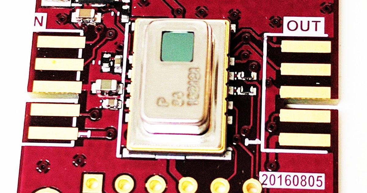 Grid-EYE module Breakout by Pure Engineering LLC on Tindie