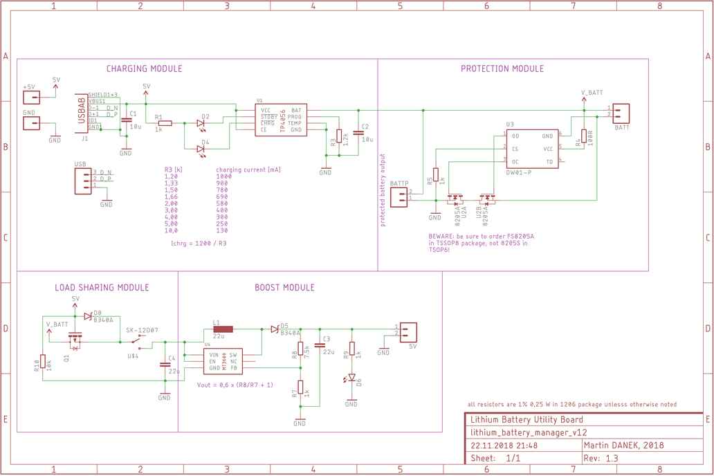 Lithium Battery Utility Board 2