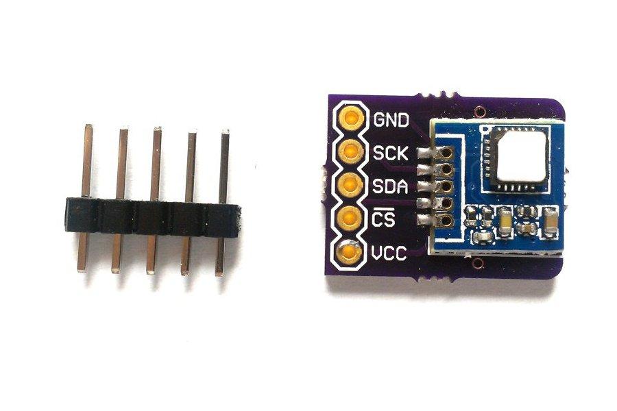 Si7005 temperature, humidity sensor breakout board