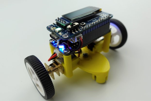 ScoutMakes Robot Kit with Bluetooth Control