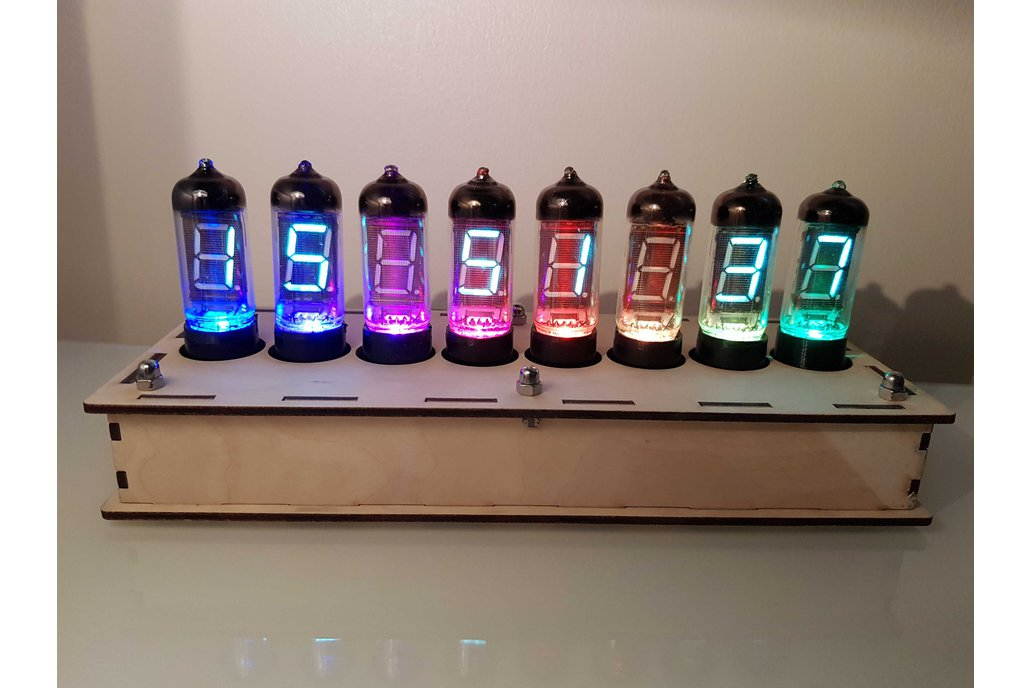 IV-11 Vacuum Fluorescent Display Clock Kit+WiFi! 1