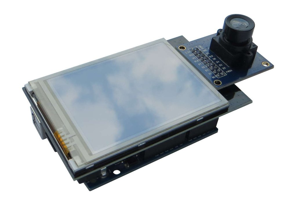 "2.8"" TFT with camera input port Arduino shield 1"