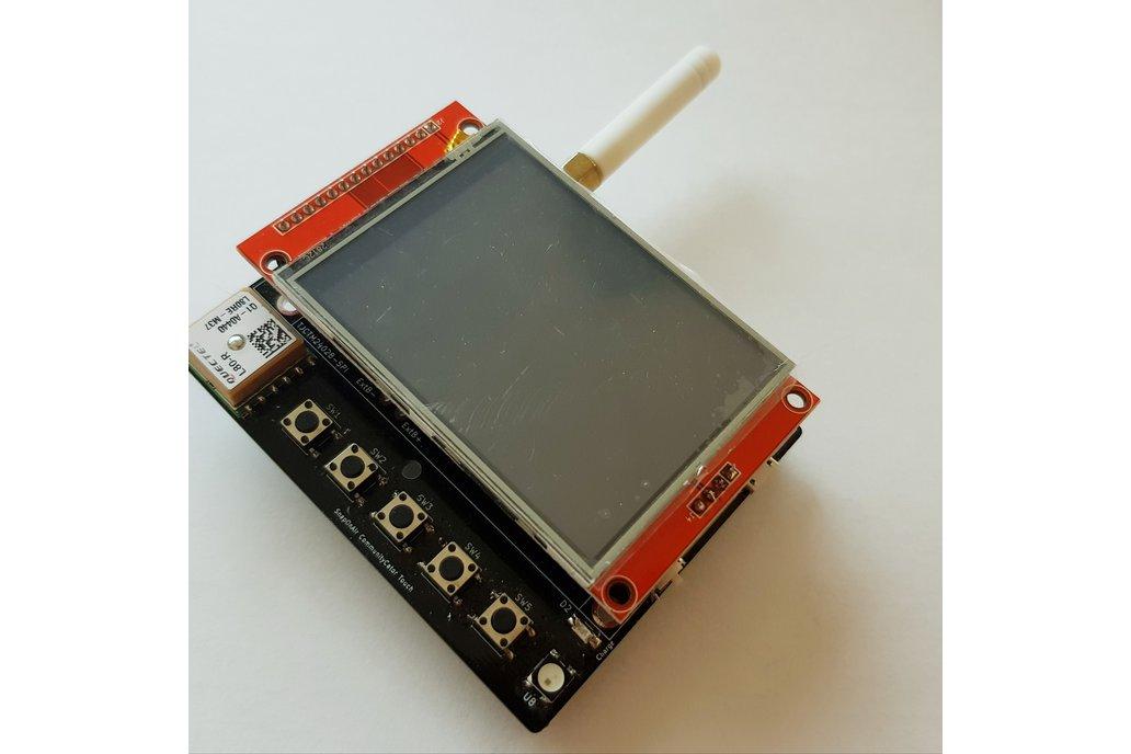 SnapOnAir Lora Pager PCB 4