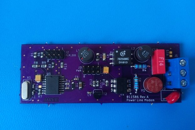 Smart Home Power Line Modem Demo Board