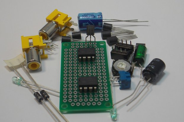 LF351 JFET Op Amp Design Kit (#1275)