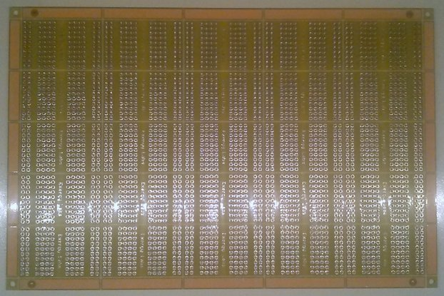 "PANEL of 25 High Quality Protoboards (1 x 1.7"")"