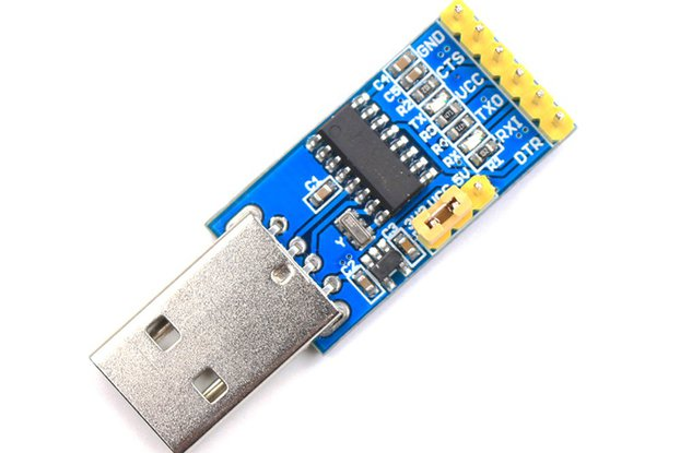 Usb to uart converter from cytron technologies on tindie