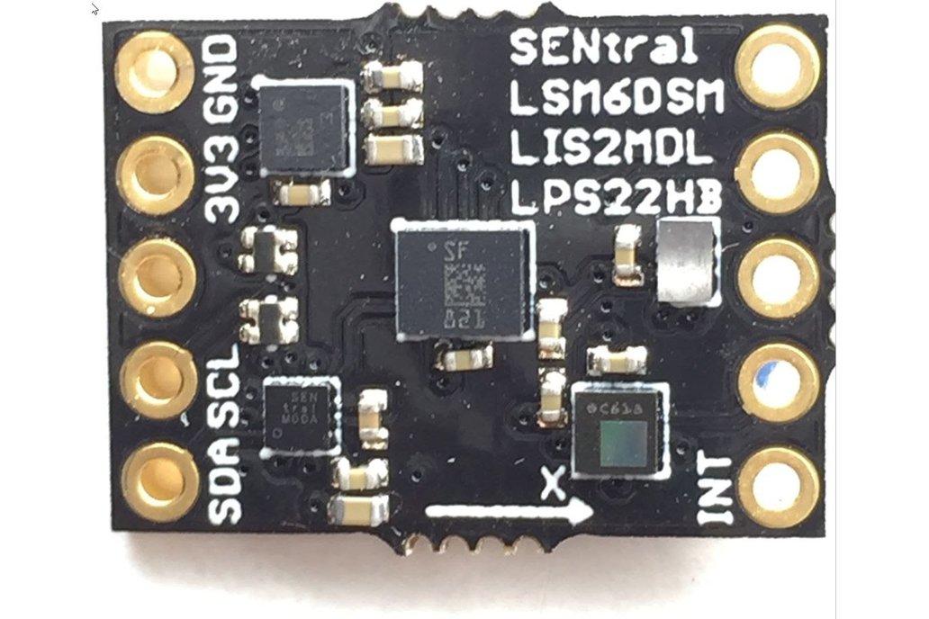 Ultimate Sensor Fusion Solution - LSM6DSM + LIS2MD 1