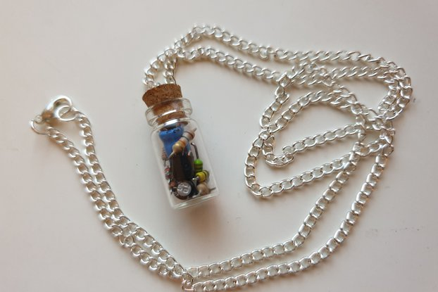 Souvenirs of Past PCBs (old) - Necklace