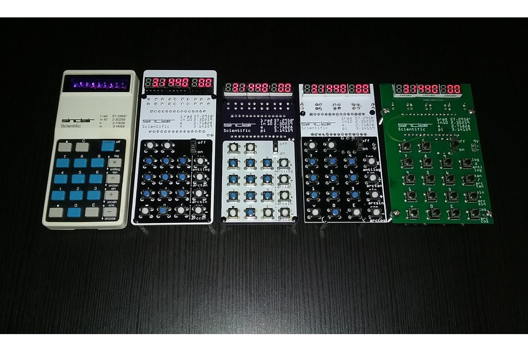 Sinclair Scientific Calculator Emulator 11