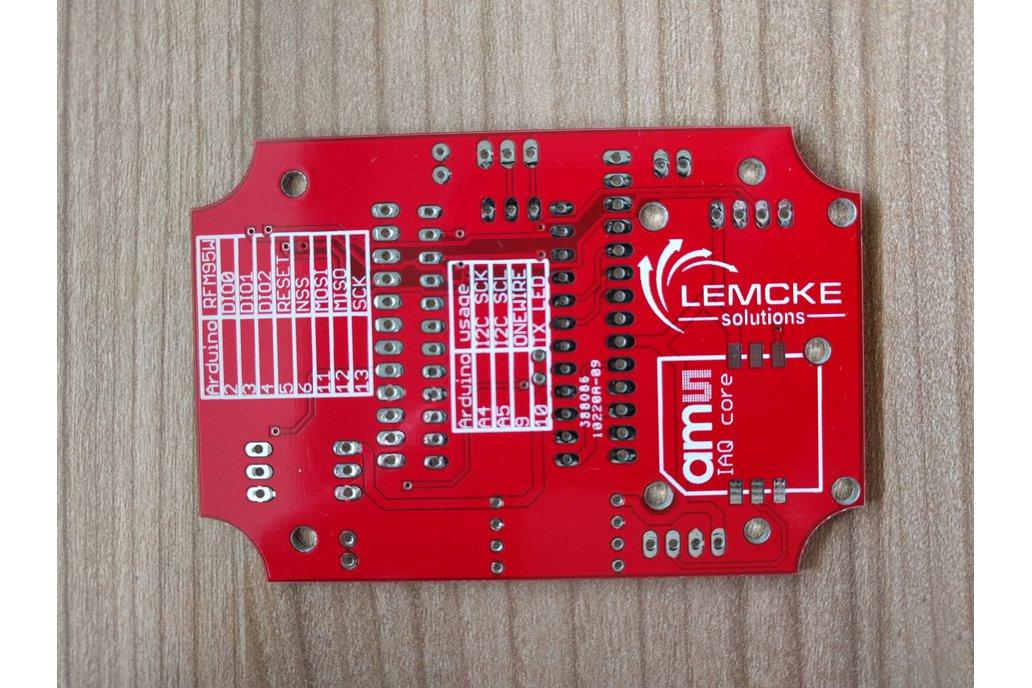 LoRaLem RFM95 LoRaWAN development board 2