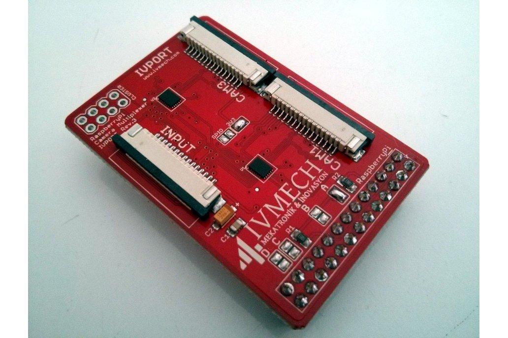 IVPort V2 Raspberry Pi Camera Multiplexer 1