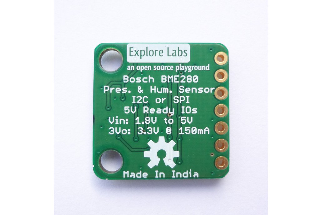 BME280 Humidity Pressure Altitude Temp Sensor