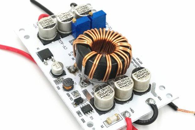 600W BOOST converter 12V step up 12-60V out adjust