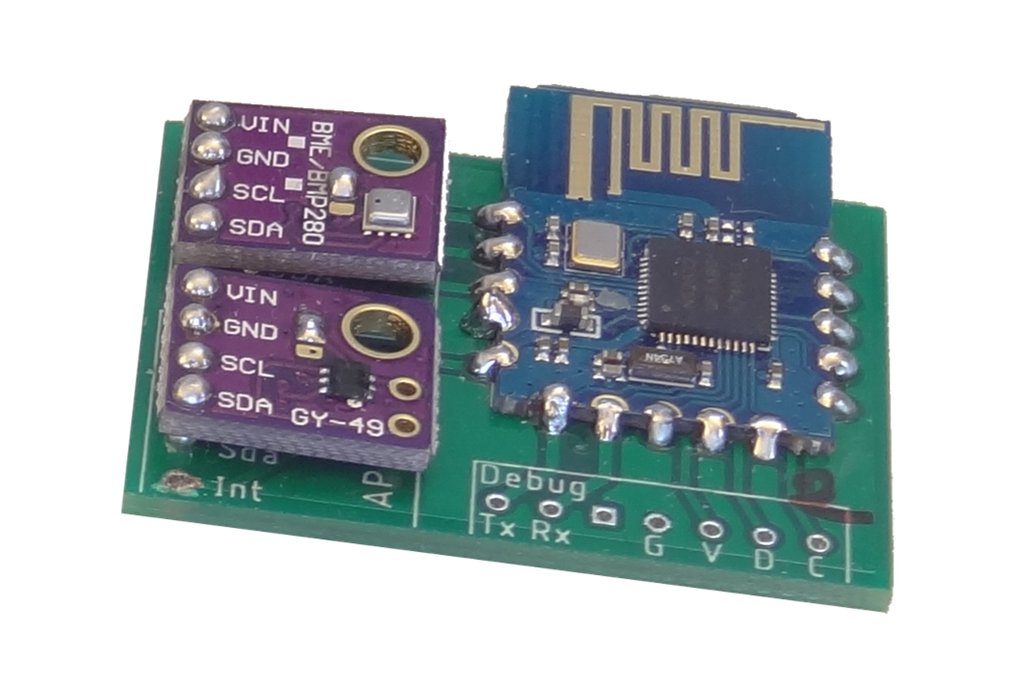 nRF52 Mesh Sensor Node 1