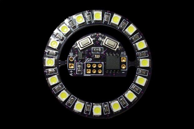 Tiny LED ring-light
